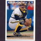 1993 Upper Deck Baseball #120 Mike LaValliere - Pittsburgh Pirates