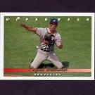 1993 Upper Deck Baseball #091 Rafael Belliard - Atlanta Braves