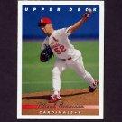 1993 Upper Deck Baseball #079 Rheal Cormier - St. Louis Cardinals