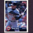 1993 Donruss Baseball #781 Randy Bush - Minnesota Twins