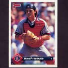 1993 Donruss Baseball #757 Mike Fitzgerald - California Angels