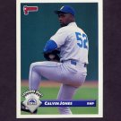 1993 Donruss Baseball #749 Calvin Jones - Colorado Rockies