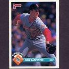 1993 Donruss Baseball #734 Cris Carpenter - Florida Marlins
