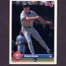 1993 Donruss Baseball #732 Spike Owen - Montreal Expos