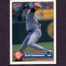 1993 Donruss Baseball #726 Scott Sanderson - New York Yankees
