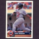 1993 Donruss Baseball #694 Lenny Webster - Minnesota Twins
