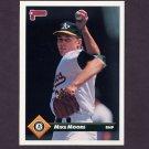 1993 Donruss Baseball #683 Mike Moore - Oakland A's