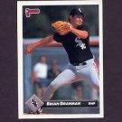 1993 Donruss Baseball #672 Brian Drahman - Chicago White Sox
