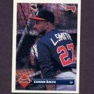 1993 Donruss Baseball #658 Lonnie Smith - Atlanta Braves