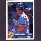 1993 Donruss Baseball #631 Scott Fletcher - Milwaukee Brewers
