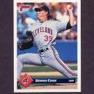 1993 Donruss Baseball #625 Dennis Cook - Cleveland Indians