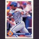 1993 Donruss Baseball #601 Terry Shumpert - Kansas City Royals
