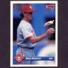 1993 Donruss Baseball #596 Mike Hartley - Philadelphia Phillies