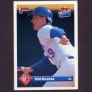 1993 Donruss Baseball #584 Rob Maurer - Texas Rangers