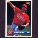 1993 Donruss Baseball #568 Tommy Greene - Philadelphia Phillies