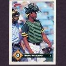 1993 Donruss Baseball #551 Henry Mercedes - Oakland A's