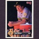 1993 Donruss Baseball #546 Bob Walk - Pittsburgh Pirates