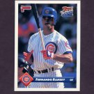 1993 Donruss Baseball #539 Fernando Ramsey RC - Chicago Cubs