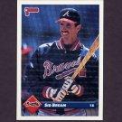 1993 Donruss Baseball #526 Sid Bream - Atlanta Braves