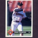 1993 Donruss Baseball #524 Robby Thompson - San Francisco Giants