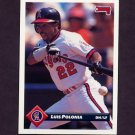 1993 Donruss Baseball #461 Luis Polonia - California Angels