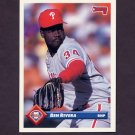 1993 Donruss Baseball #412 Ben Rivera - Philadelphia Phillies