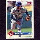 1993 Donruss Baseball #387 Danny Leon - Texas Rangers