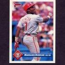 1993 Donruss Baseball #382 Mariano Duncan - Philadelphia Phillies