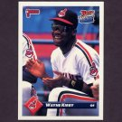 1993 Donruss Baseball #380 Wayne Kirby - Cleveland Indians