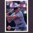 1993 Donruss Baseball #369 Scott Leius - Minnesota Twins