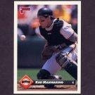 1993 Donruss Baseball #364 Kirt Manwaring - San Francisco Giants