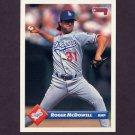 1993 Donruss Baseball #350 Roger McDowell - Los Angeles Dodgers