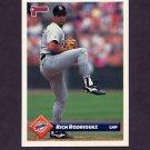 1993 Donruss Baseball #338 Rich Rodriguez - San Diego Padres