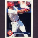 1993 Donruss Baseball #336 Ozzie Canseco - St. Louis Cardinals