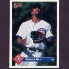 1993 Donruss Baseball #318 Derrick May - Chicago Cubs