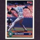1993 Donruss Baseball #317 Erik Hanson - Seattle Mariners