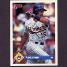 1993 Donruss Baseball #309 Pat Listach - Milwaukee Brewers