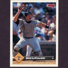 1993 Donruss Baseball #306 Mike LaValliere - Pittsburgh Pirates