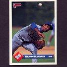 1993 Donruss Baseball #298 Ramon Martinez - Los Angeles Dodgers