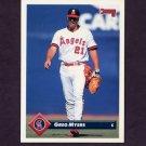 1993 Donruss Baseball #269 Greg Myers - California Angels