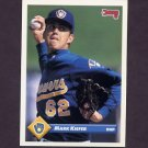 1993 Donruss Baseball #263 Mark Kiefer - Milwaukee Brewers