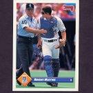 1993 Donruss Baseball #261 Brent Mayne - Kansas City Royals