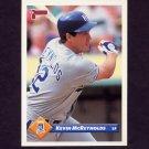 1993 Donruss Baseball #233 Kevin McReynolds - Kansas City Royals