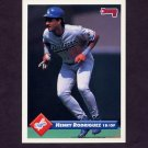 1993 Donruss Baseball #218 Henry Rodriguez - Los Angeles Dodgers