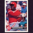 1993 Donruss Baseball #214 Geronimo Berroa - Cincinnati Reds