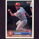 1993 Donruss Baseball #200 Juan Bell - Philadelphia Phillies