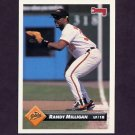 1993 Donruss Baseball #191 Randy Milligan - Baltimore Orioles