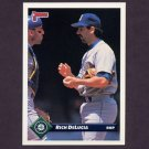 1993 Donruss Baseball #185 Rich DeLucia - Seattle Mariners
