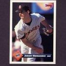 1993 Donruss Baseball #180 Jeremy Hernandez - San Diego Padres