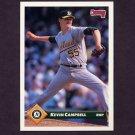 1993 Donruss Baseball #155 Kevin Campbell - Oakland A's